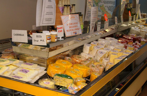 Cheese Tasting at Evansdale Cheese